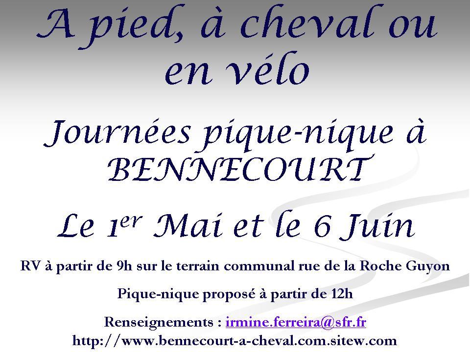 Amazones de france agenda d taill ile de france r gions journ es pique nique bennecourt - Lieux de pique nique en ile de france ...